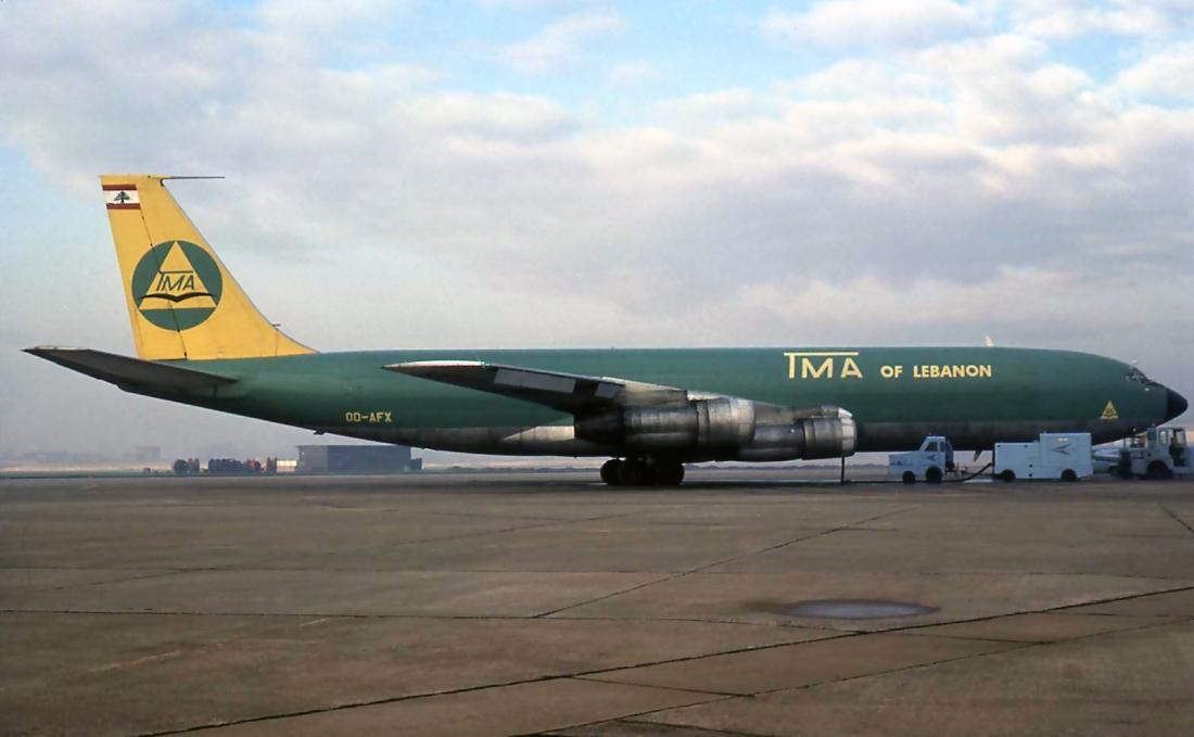 B.707 OD-AFX (27.11.1978)