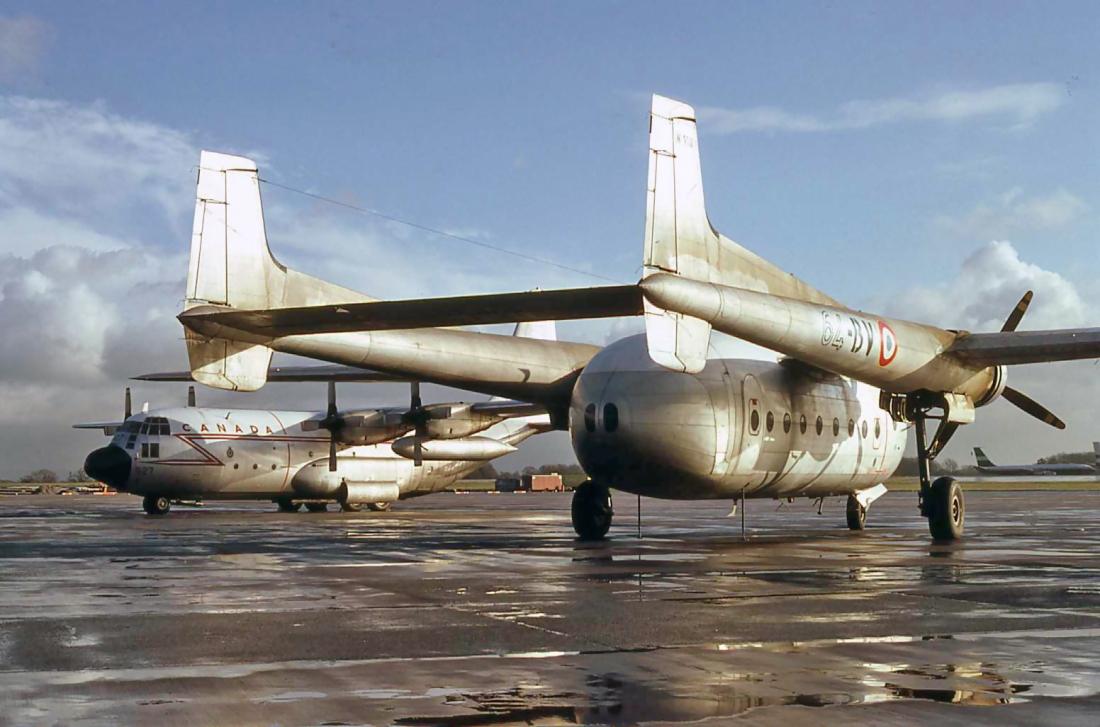 C-130 130327 & Noratlas 110 (15.12.1980)
