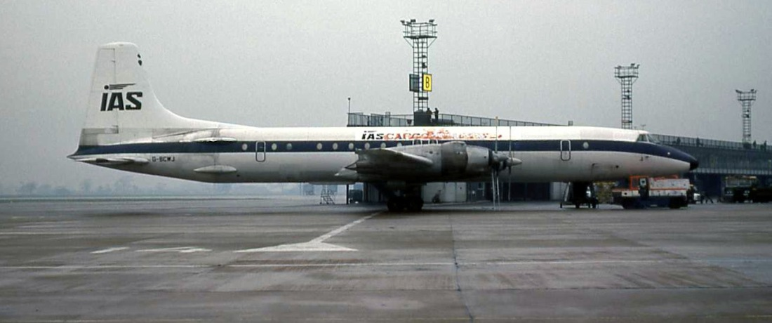 CL-44 G-BCWJ (14.12.1976)