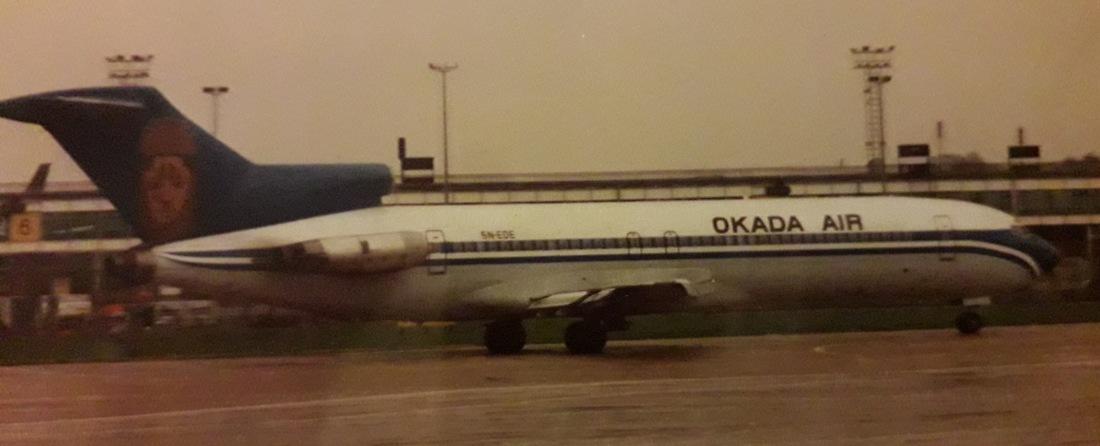 okada b727 mike Oldham dec 1994